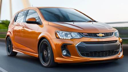 Chevrolet Sonic Hatchback 2017