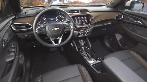Chevrolet Trailblazer 2021 dashboard