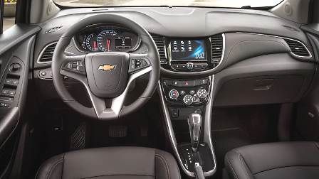 Chevrolet Trax 2017 dashboard