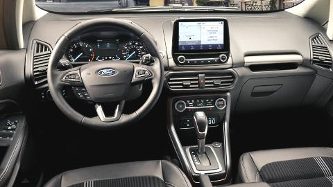 Ford EcoSport 2020 dashboard