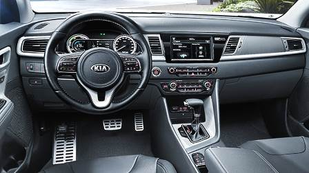 Kia Niro 2017 dashboard