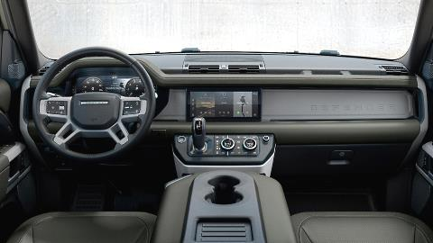 Land Rover Defender 90 2021 dashboard