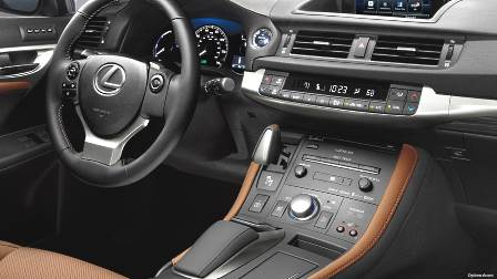 Lexus CT 2017 dashboard