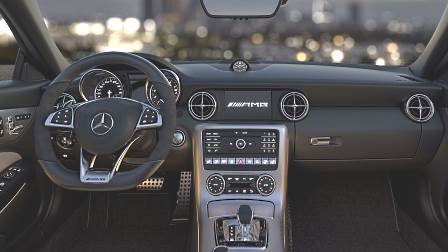Mercedes-Benz SLC 2016 dashboard