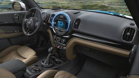 MINI Countryman 2017 dashboard