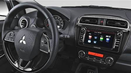 Mitsubishi Mirage 2017 dashboard