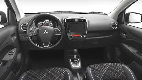 Mitsubishi Mirage 2021 dashboard